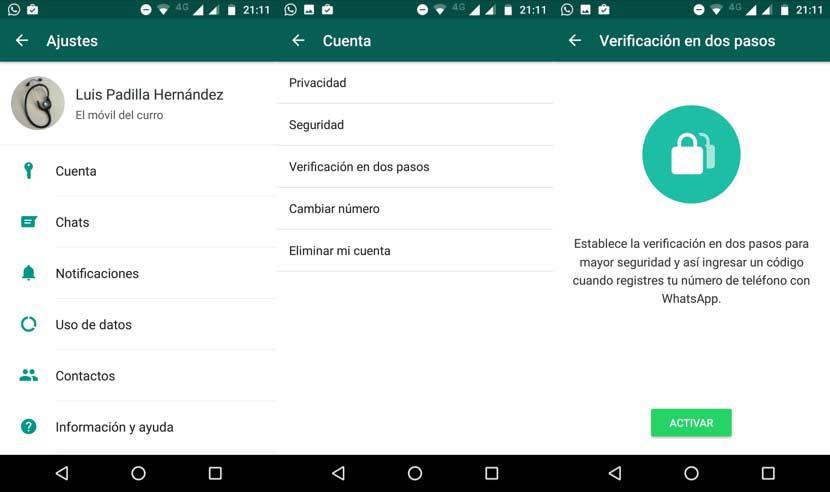 espiar WhatsApp con la Verificación en dos pasos activada
