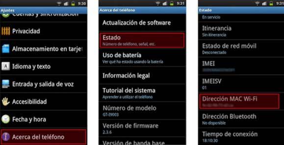Supervisar la cuenta de WhatsApp de otro teléfono usando la dirección MAC