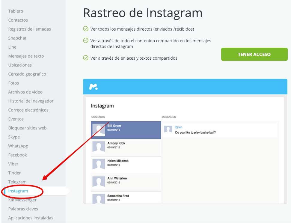 espiar Instagram