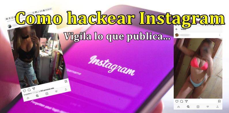 como hackear instagram